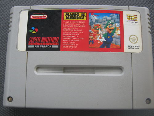 MARIO IS MISSING für SUPER NINTENDO SNES