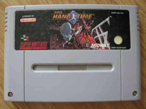 NBA HANG TIME für SUPER NINTENDO SNES