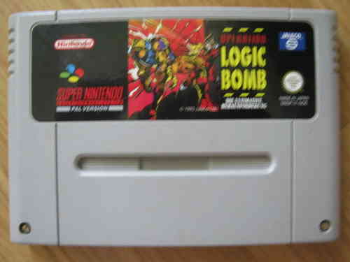 OPERATION LOGIC BOMB für SUPER NINTENDO SNES
