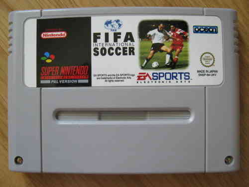 FIFA INTERNATIONAL FOOTBALL für SUPER NINTENDO SNES