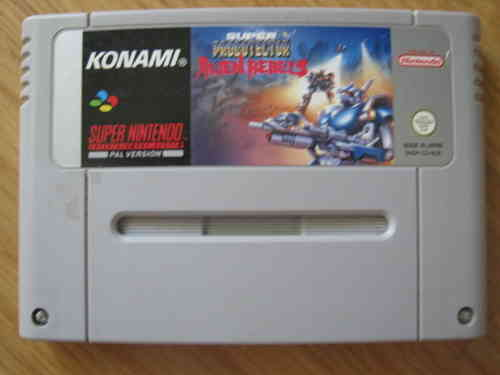 SUPER PROBOTECTOR ALIEN REBELS für SUPER NINTENDO SNES