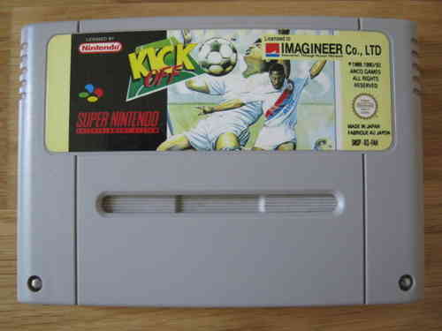 KICK OFF für SUPER NINTENDO SNES