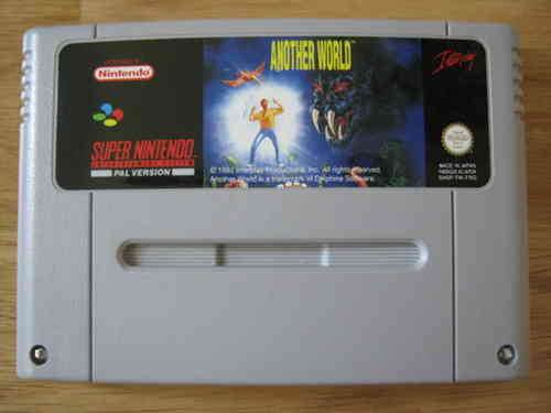 ANOTHER WORLD für SUPER NINTENDO SNES