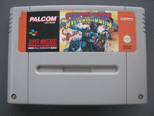 SUNSET RIDERS für NINTENDO SNES