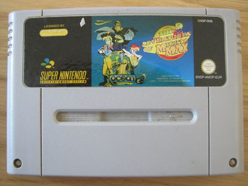 THE ADVENTURES OF MIGHTY MAX für NINTENDO SNES