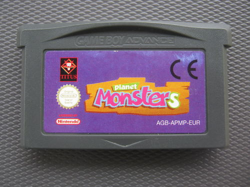 PLANET MONSTERS für NINTENDO GBA
