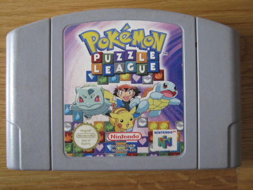 POKEMON PUZZLE LEAGUE für NINTENDO 64