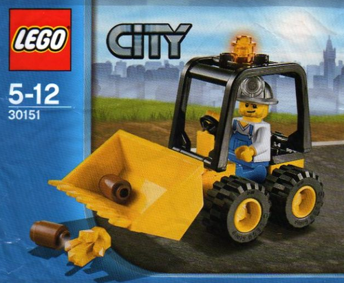 Lego City Polybag 30151 Bagger