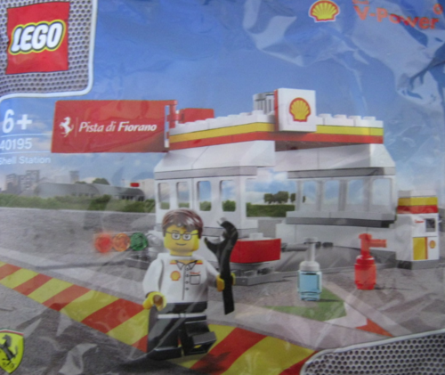 Lego Polybag 40195 Shell Station