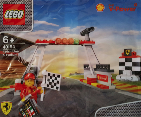 Lego Polybag 40194 Finish Line & Podium