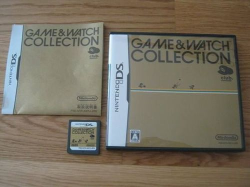 GAME & WATCH COLLECTION für NINTENDO DS
