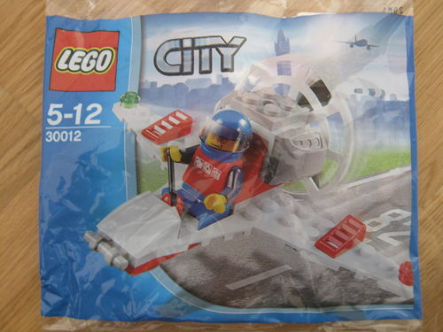 Lego City 30012 Mini Airplane Polybag