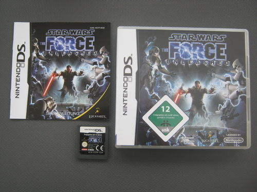 STAR WARS THE FORCE UNLEASHED für NINTENDO DS