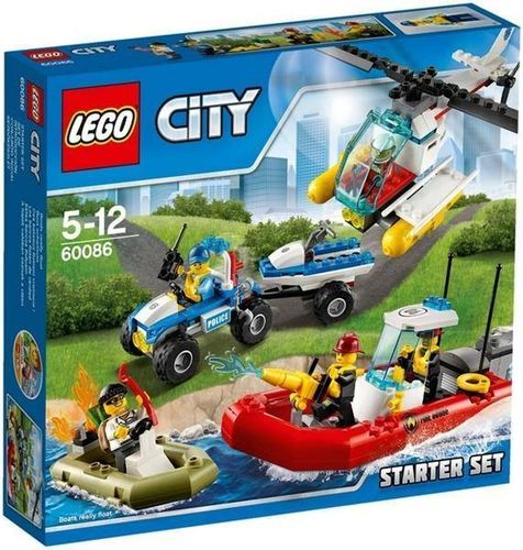 Lego City 60086 Starter-Set
