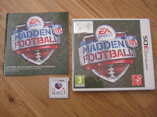 MADDEN FOOTBALL für NINTENDO 3DS