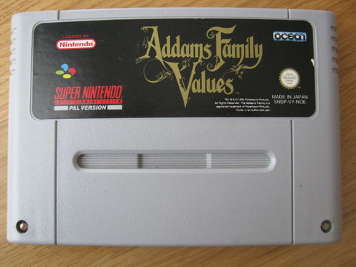 ADDAMS FAMILY VALUES für NINTENDO SNES