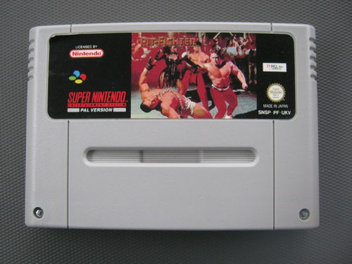 PIT-FIGHTER für NINTENDO SNES