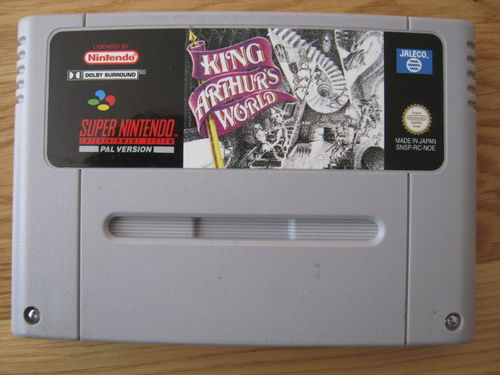 KING ARTHURS WORLD für NINTENDO SNES