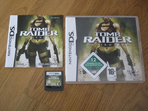 TOMB RAIDER UNDERWORLD für NINTENDO DS