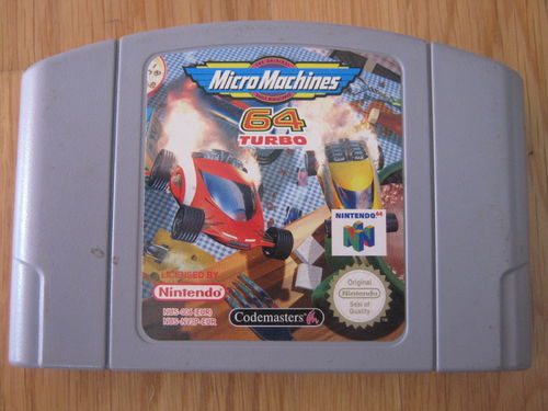 MICRO MACHINES 64 TURBO für NINTENDO 64