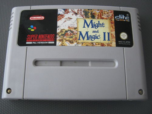 MIGHT and MAGIC II für NINTENDO SNES