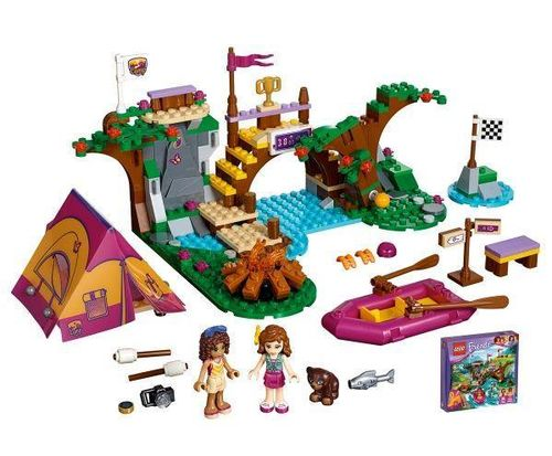 LEGO Friends 41121 Abenteuercamp Raft