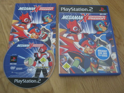 MEGA MAN X COMMAND MISSION für PS 2