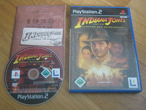INDIANA JONES LEGENDE DER KAISERGRUFT für PS 2
