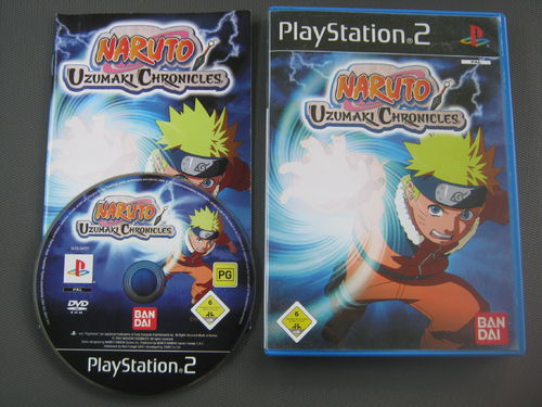 NARUTO UZUMAKI CHRONICLES für PS 2