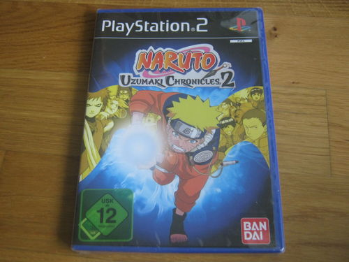 NARUTO UZUMAKI CHRONICLES 2 für PS2