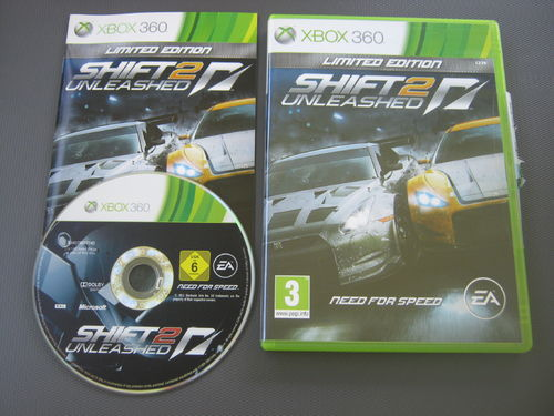 NEED FOR SPEED SHIFT 2 UNLEASHED für XBOX 360