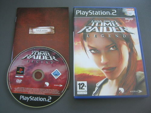 TOMB RAIDER LEGEND für PLAYSTATION 2 (ENG)