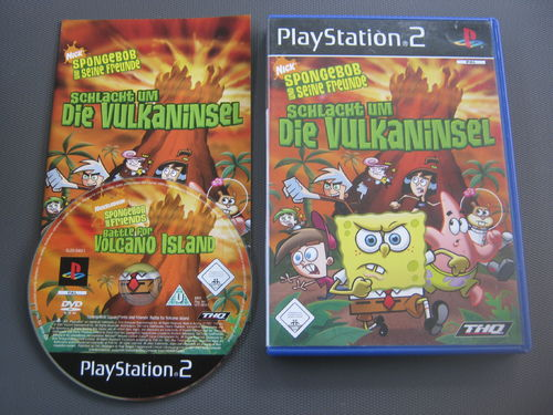 SPONGEBOB VULKANINSEL für PLAYSTATION 2