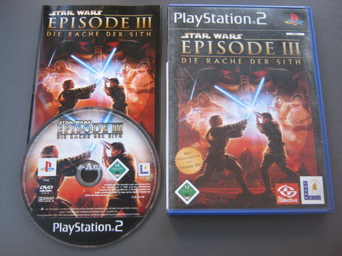 STAR WARS EPISODE 3 für PLAYSTATION 2