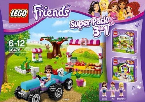 Lego Friends 66478 Super Pack 3in1 Set