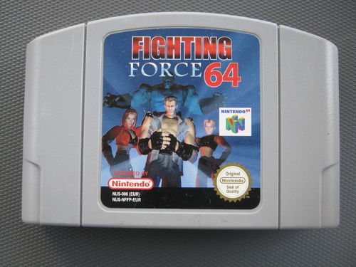 FIGHTING FORCE für NINTENDO 64