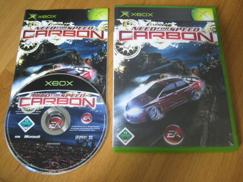 NEED FOR SPEED CARBON für XBOX