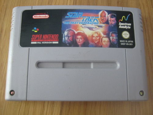STAR TREK NEXT GENERATION für NINTENDO SNES