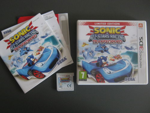 SONIC TRANSFORMED für NINTENDO 3DS