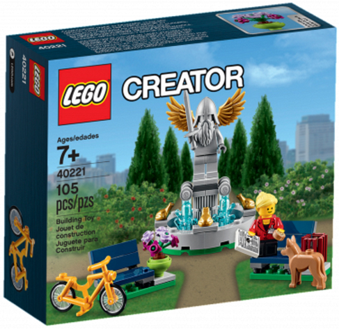 LEGO 40221 Fountain