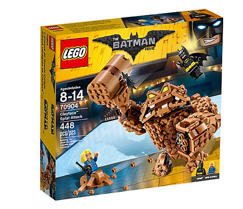 Lego Batman Movie 70904 Clayface Matsch-Attacke