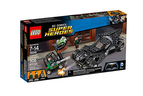 Lego Super Heroes 76045 Kryptonit-Mission im Batmobil
