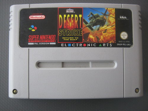 DESERT STRIKE RETURN TO THE GULF für SNES