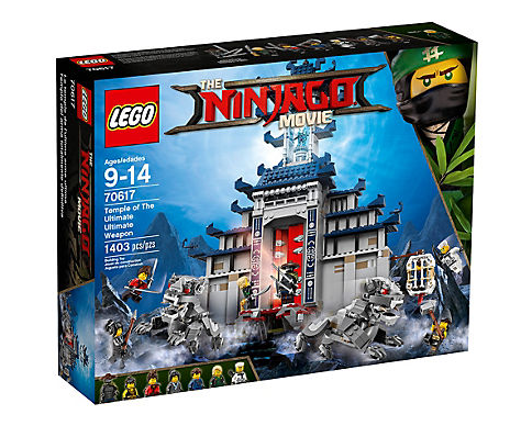Lego Ninjago Movie 70617 Ultimativ ultimatives Tempel-Versteck