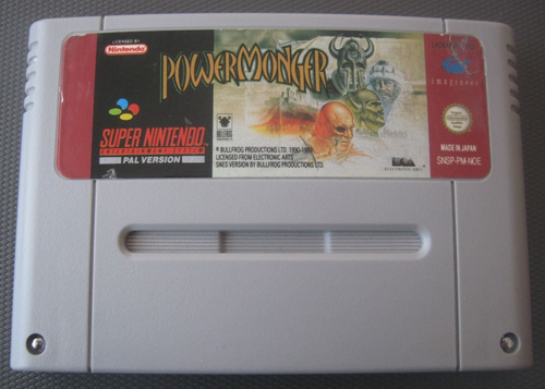 POWER MONGER für NINTENDO SNES