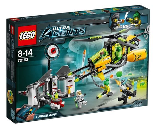 LEGO Ultra Agents 70163 Agenten Buggy