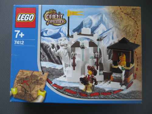 Lego Orient Expedition 7412 Yeti's Hideout