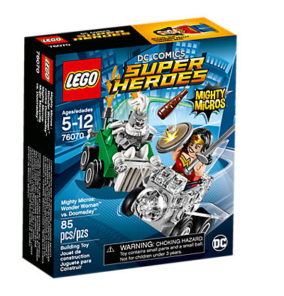 Lego 76070 Mighty Micros: Wonder Woman vs. Doomsday