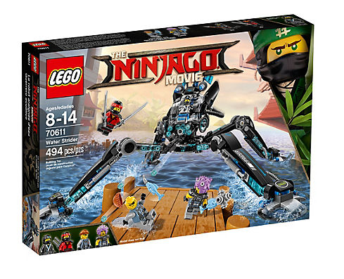 Lego Ninjago Movie 70611 Nya's Wasser-Walker