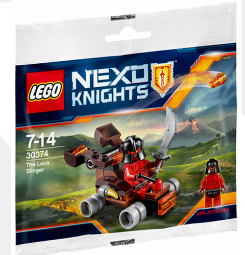 Lego Nexo Knights 30374 The Lava Slinger polybag